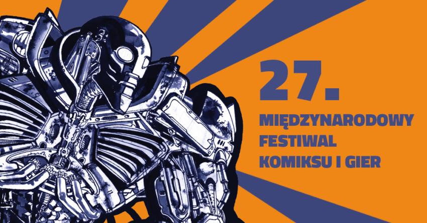 Komiks Festiwal Międzynarodowemu Festiwalu Komiksu iGier wersja 2016.